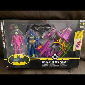 BATMAN VS JOKER SET